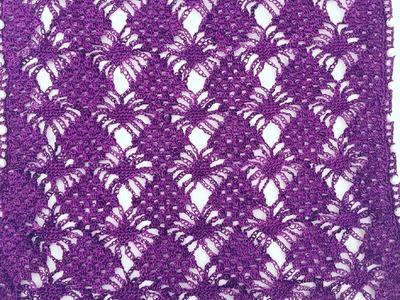 Crochet Pattern - Spider crochet stitch tutorial