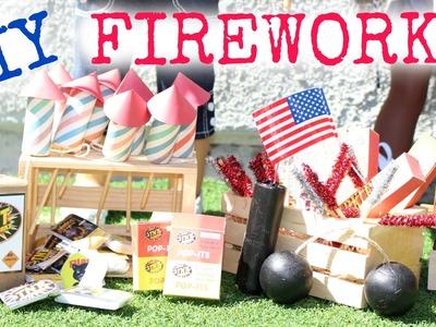 DIY American Girl Doll Fireworks