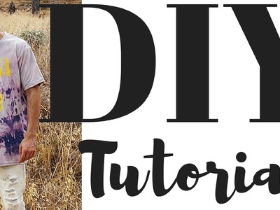 DIY BLEACH Tutorial: SHIRTS, JEANS and FLANNELS