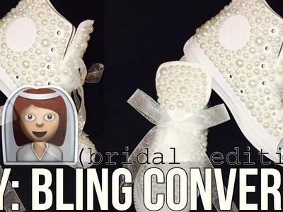 DIY | Bling Converse Bridal Edition