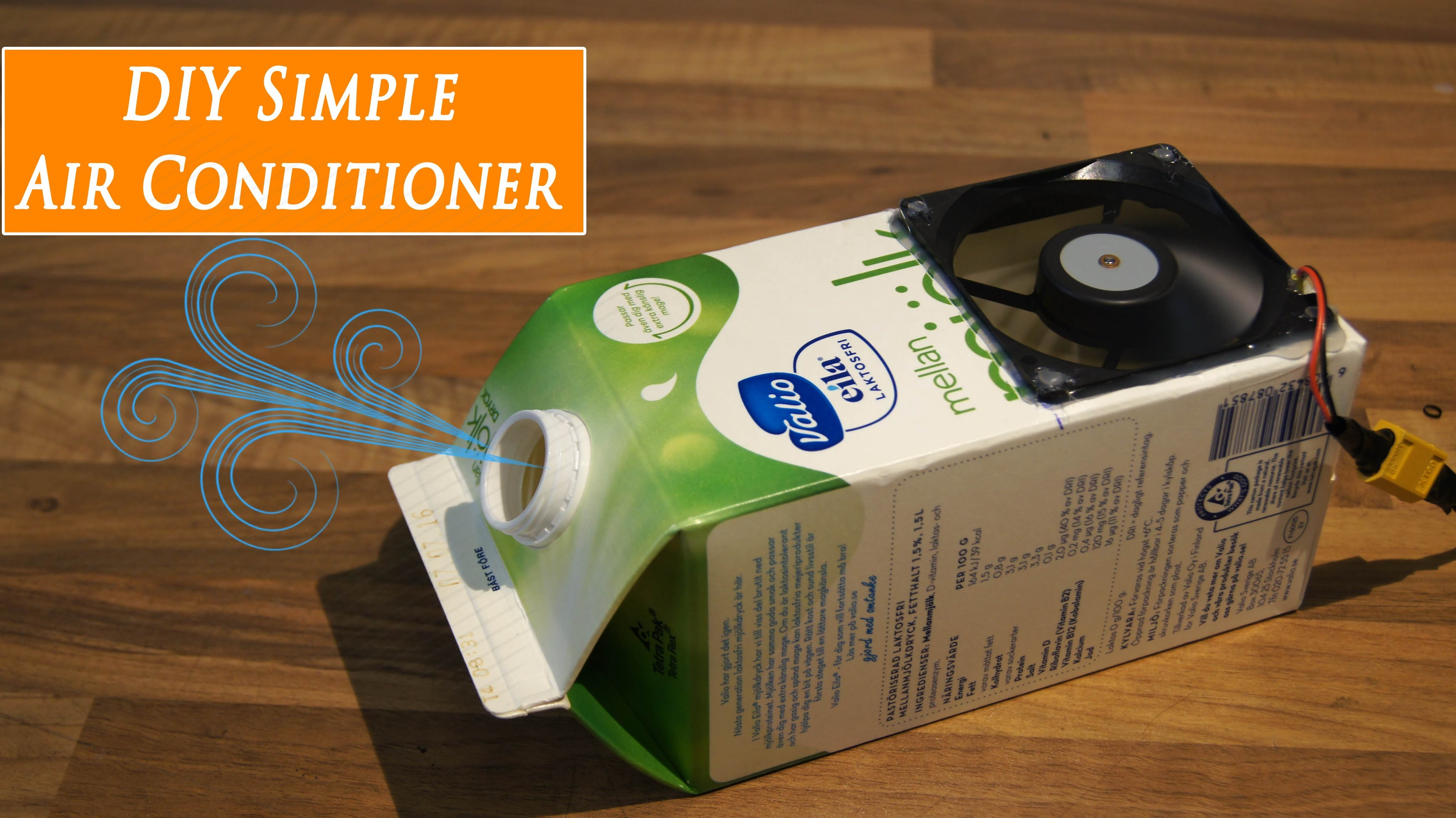 DIY Cheap Homemade Air Conditioner Quick Build - RCLifeOn