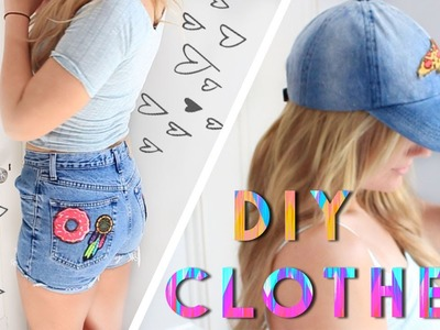 DIY Clothes for Summer 2016 | Upcycle Your Clothes