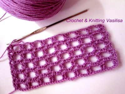 DIY crochet mesh patterns