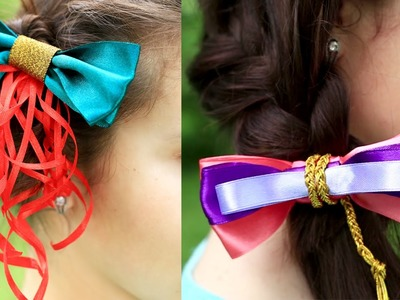 DIY Disney Baby Hair Bows