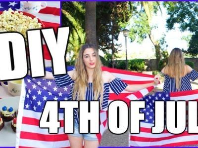 DIY Fourth Of July : Makeup & Treats!!