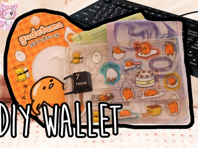 DIY Gudetama wallet out of scratch! Upcycling computer parts