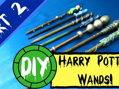 DIY: Harry Potter Wand Tutorial Part 2! -  7 Easy Wand Ideas