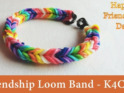 DIY: How to Make Loom Bands || Rubber Bracelets - Friendship Day Band