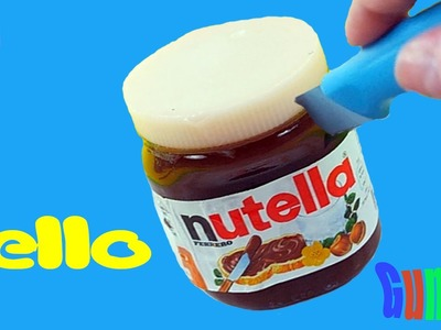 DIY How To Make Nutella Gummy Edible Pudding! Jelly mold Jelly Recipe