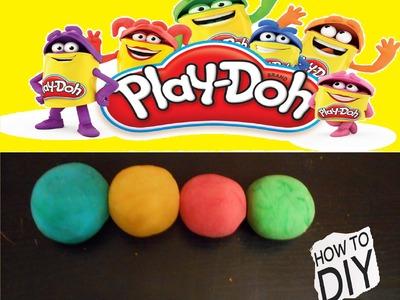 DIY: How to make Play-Doh at home(with cream of tartar)