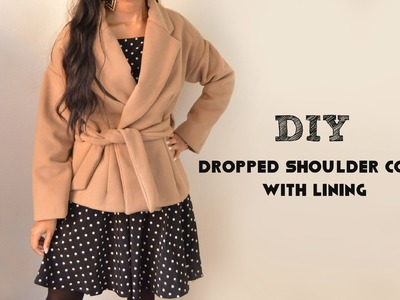 DIY: How to Sew a Wool Coat with Lining