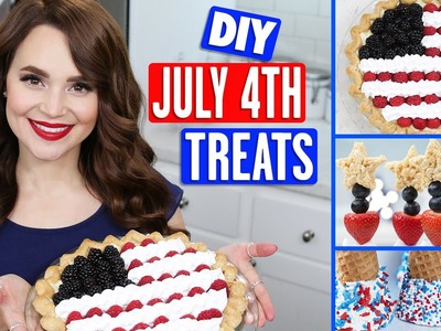 DIY July 4th TREATS