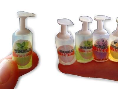 DIY Miniature Liquid Soap Dispenser