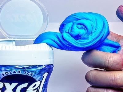 DIY: MINT Gum Slime!  Excelerate your Slime!