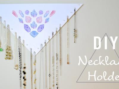 DIY Necklace Holder l Mey Lynn