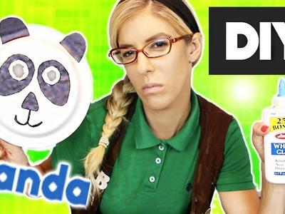 DIY Panda Mask w. Beatrice Mumblesteen