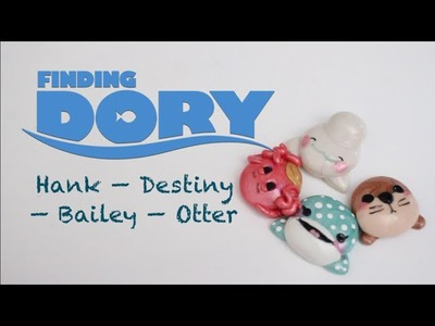 DIY Polymer Clay Finding Dory Charms