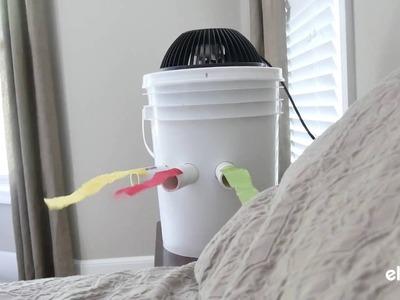 DIY Portable Bucket Air Conditioner