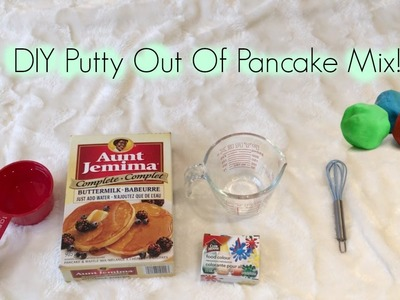 DIY Putty.playdough Out Of Pancake Mix I Coco Mimi