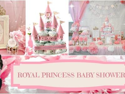 DIY Royal Princess Baby Shower | Angie Lowis