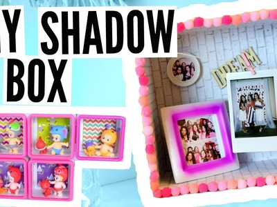 DIY Shadow Box Room Decor For SUMMER + TWOZIES!