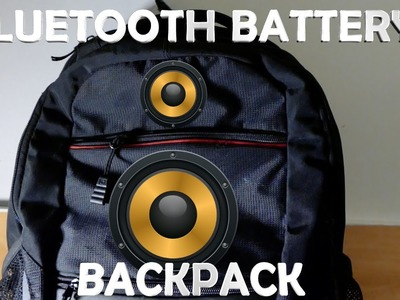 DIY Smart Backpack! (Bluetooth, Battery, Magnetic Charging)
