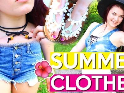 DIY Summer Clothes! ☀️