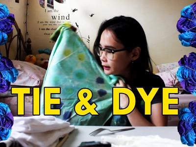 DIY TIE and DYE