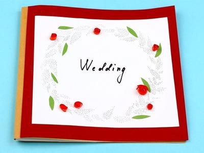 DIY Wedding Scrapbook Photo Album