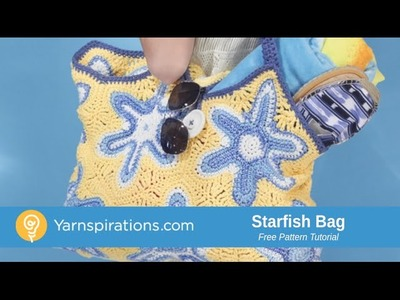 How To Crochet A Bag: Starfish Bag