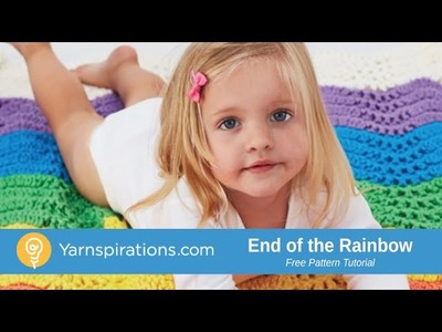 How to Crochet a Blanket: End of the Rainbow