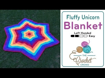 How to Crochet A Blanket: Fluffy Unicorn