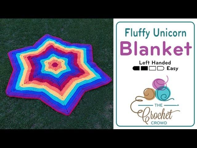 How to Crochet A Blanket: Fluffy Unicorn