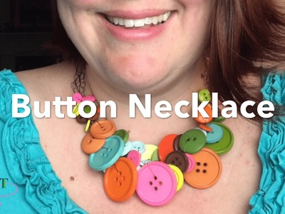 How to Crochet a Button Necklace - 3 strands