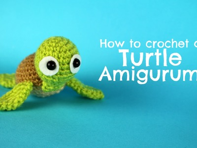 How to crochet a Turtle amigurumi | World Of Amigurumi