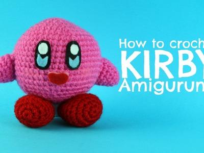 How to crochet Kirby in Amigurumi | World Of Amigurumi