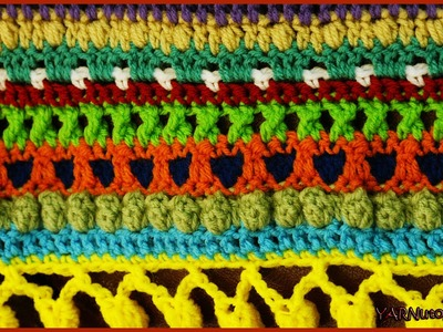 How to Crochet The Color Pop Baby Blanket