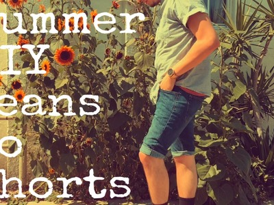 How To| Jeans into Shorts DIY