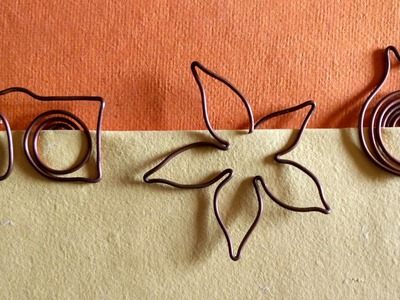 How To Make A Bookmark With Copper Wire | DIY Back To School Supplies