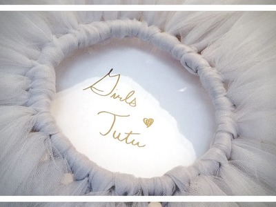 How to Make a Girls Tutu - DIY With Little Sewing