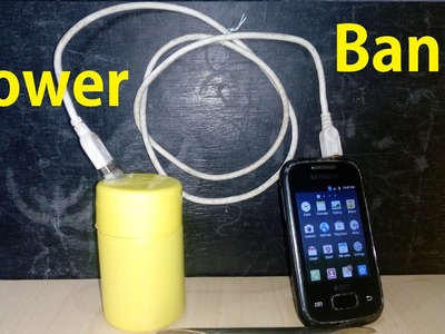 How To Make A Powerbank At Home Easy Way DIY