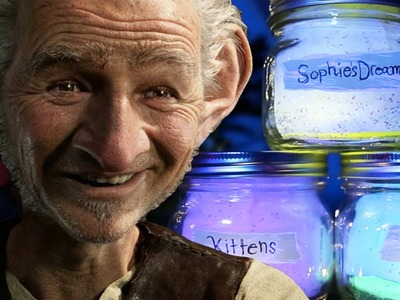 How To Make BFG Dream Jar | Disney DIY