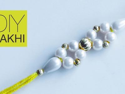 How to make rakhi | DIY rakhi for Raksha Bandhan