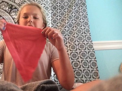 How To Make Underwear Out Of Tank Tops -Dylan Elizabeth.diy