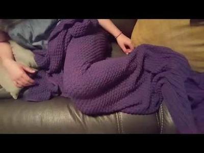 Hughapy Crochet Adult Mermaid Blanket Review