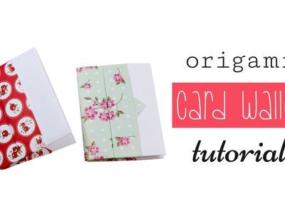 Origami Wallet ♥︎ Short Version ♥︎ Easy ♥︎ DIY