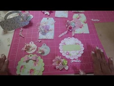 Pretty Packaging Series~ Part 4~ DIY Shabby Gift Tags w. Tips And Tricks :)