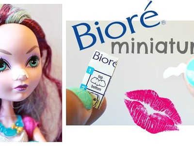 Realistic miniature Biore strip tutorial | Miniature DIY!