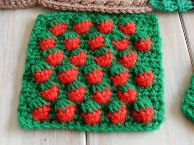 Strawberry Stitch - How to Crochet