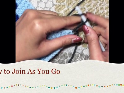 Tunisian Crochet: How to Join As You Go
